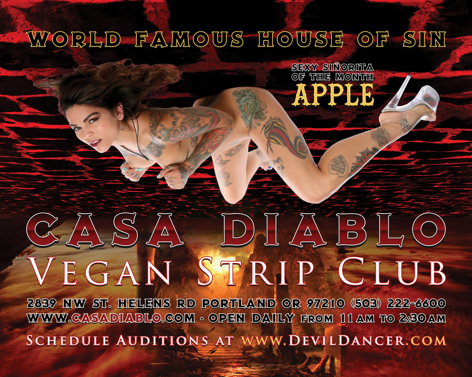 Casa diablo private dance